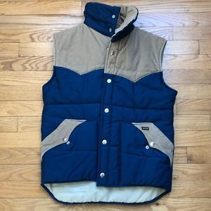 Vintage Maverick puffy vest